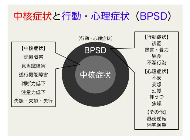 BPSD 中核症状