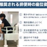 洋式トイレでの排泄支援 -福祉用具と排便姿勢から考える-