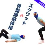 【尿トレ】骨盤底筋トレーニングとスクワットの効果を比較